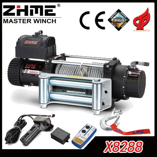 Terrific China 8288Lbs Wire Rope Remote Controlled Electric Winch For Truck Wiring Database Obenzyuccorg