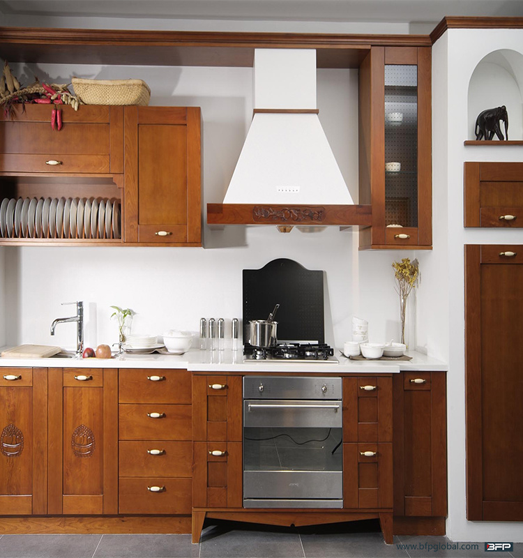 Mini Kitchen Best Material Wooden Complete Kitchen pictures & photos