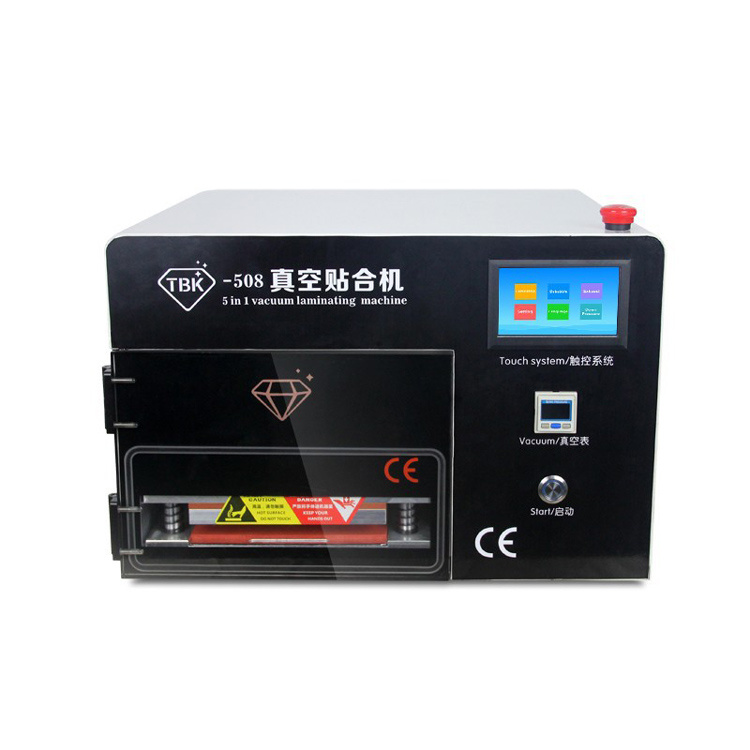 Tbk LCD Repair Equipment Oca Vacuum Laminator Machine+ 14 Inch Separtor Machine+ 7 Inch Separtor Machine Built-in Vacuum pictures & photos