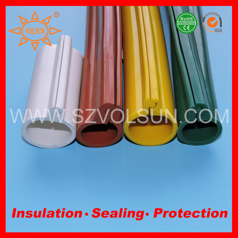 China Flexible Silicone Rubber Overhead Line Cover for Wire ...