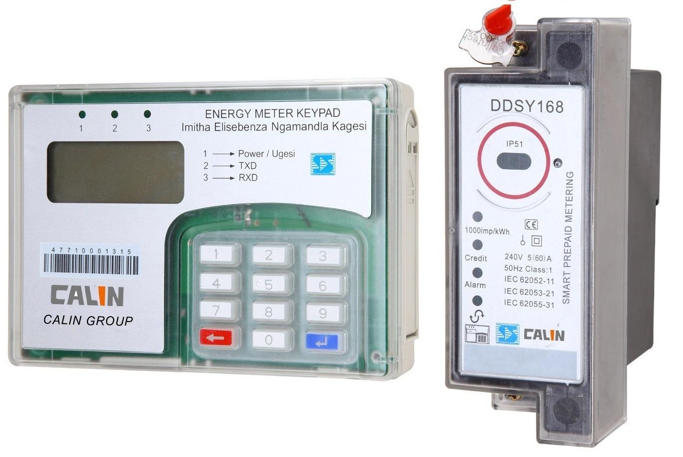 China Tamper Proof Wireless Electricity Meter Split Type, Prepayment ...