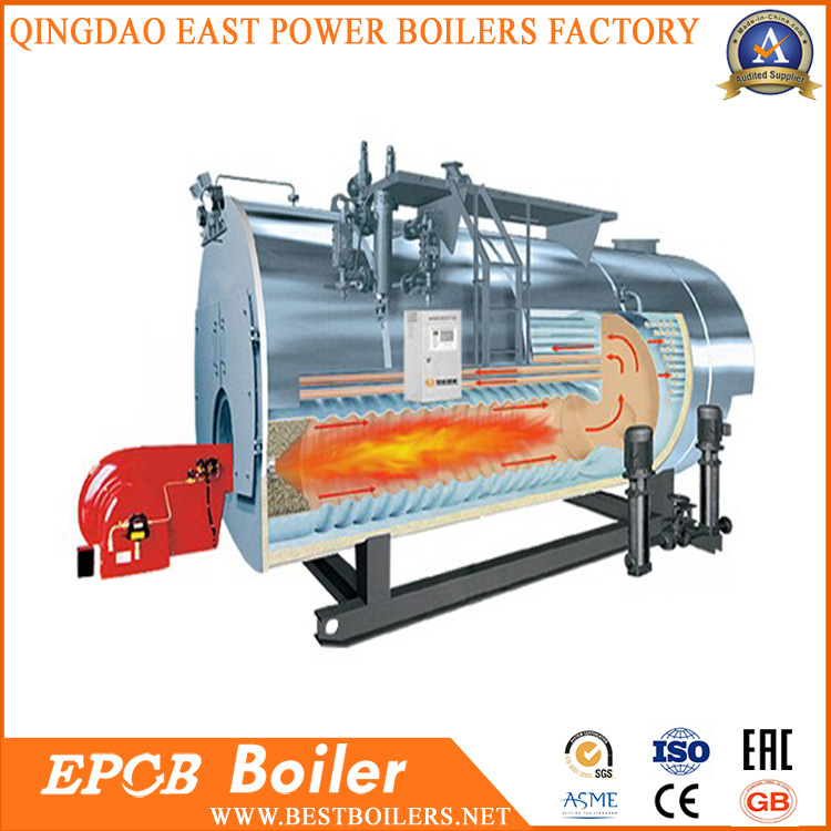China Fire Tube Boiler 3 Pass Combustion Gas Oil Steam Boiler ...