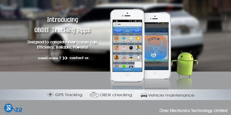 china work with unique tracking app hidden gps tracker obd2 with