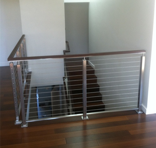 China DIY Cable Railing / Wire Rope Railing Balustrade with ...