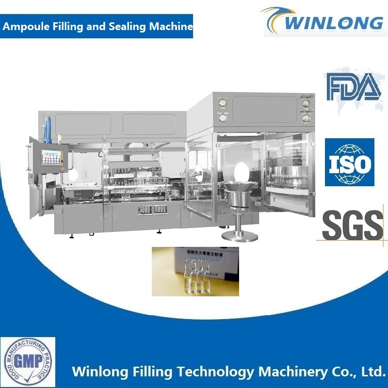 Automatic Ampoule Vial Filling and Sealing Machine