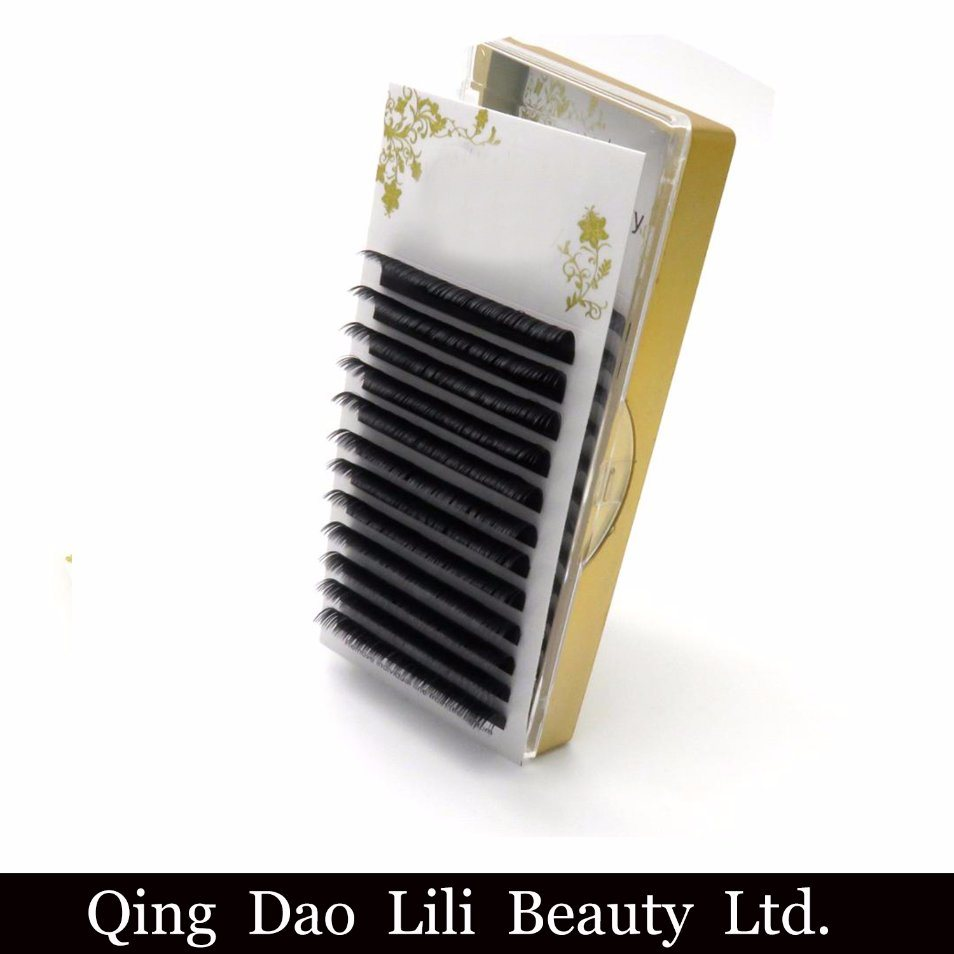 [Hot Item] Individual Extensions Matte Korean PBT Fiber Lashes Silk Eyelash  Extensions