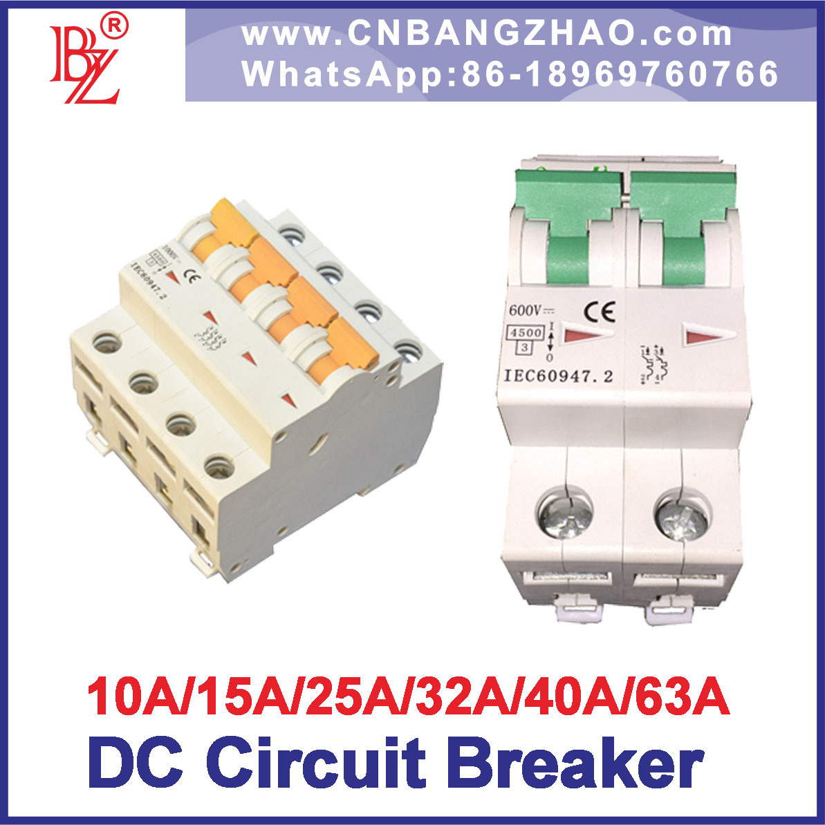 10a Circuit Breaker Diagram Great Installation Of Wiring A Box China High Voltage 1000v Dc To 63a Rh Bangzhao En Made In Com Parts