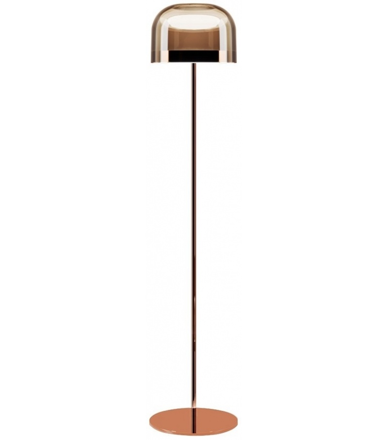 China New Designs Floor Lamp Glass Material Led Light Source