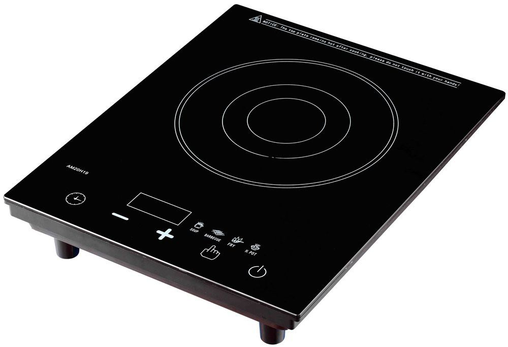 China Touch Sensor Control Induction Cooktop Hotplate Plastic Body Cooker Am20h19 2 Stove