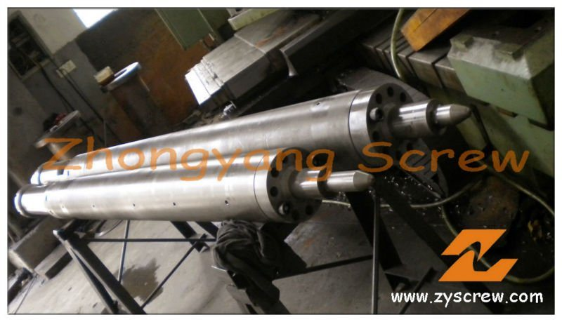 Nitriding PP PE Injection Molding Machine Screw Barrel
