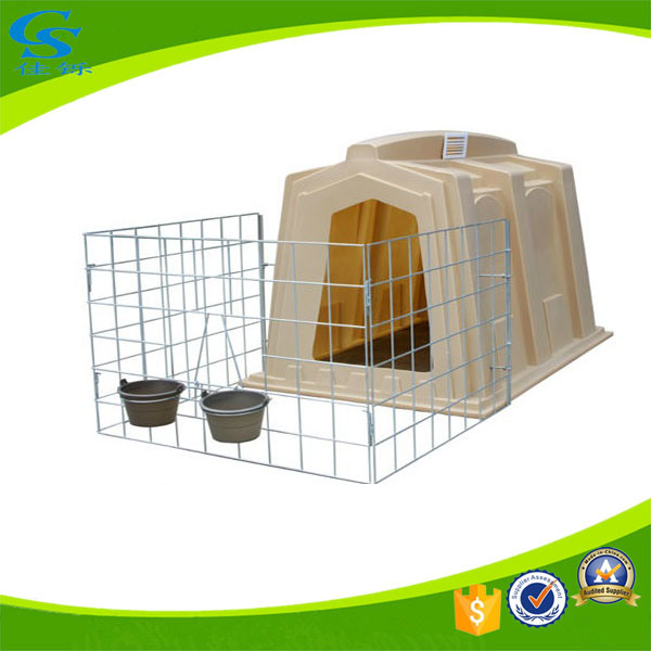 China Cow Calf Hutch with Stainless Steel Fence - China Calf Hutch ...