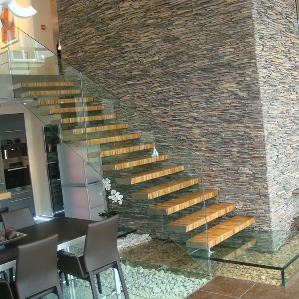 China Customized Building Staircase Cantilever Stair Design