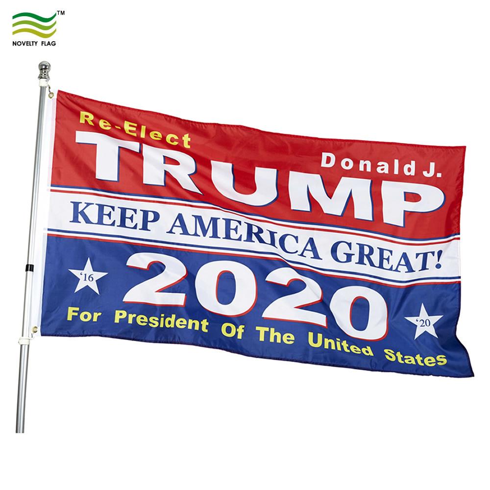 Trump 2020 Keep America Great President Donald Make America Great 3x5 Flag hi