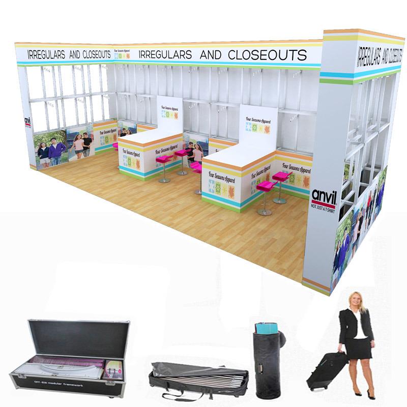Modular Exhibition Stands Yard : China custom diy portable aluminium modular stand booth display
