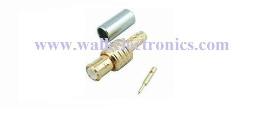 MMCX male straight Connector crimp for RG174 RG316 RG178 RF Coaxial Antenn Cable