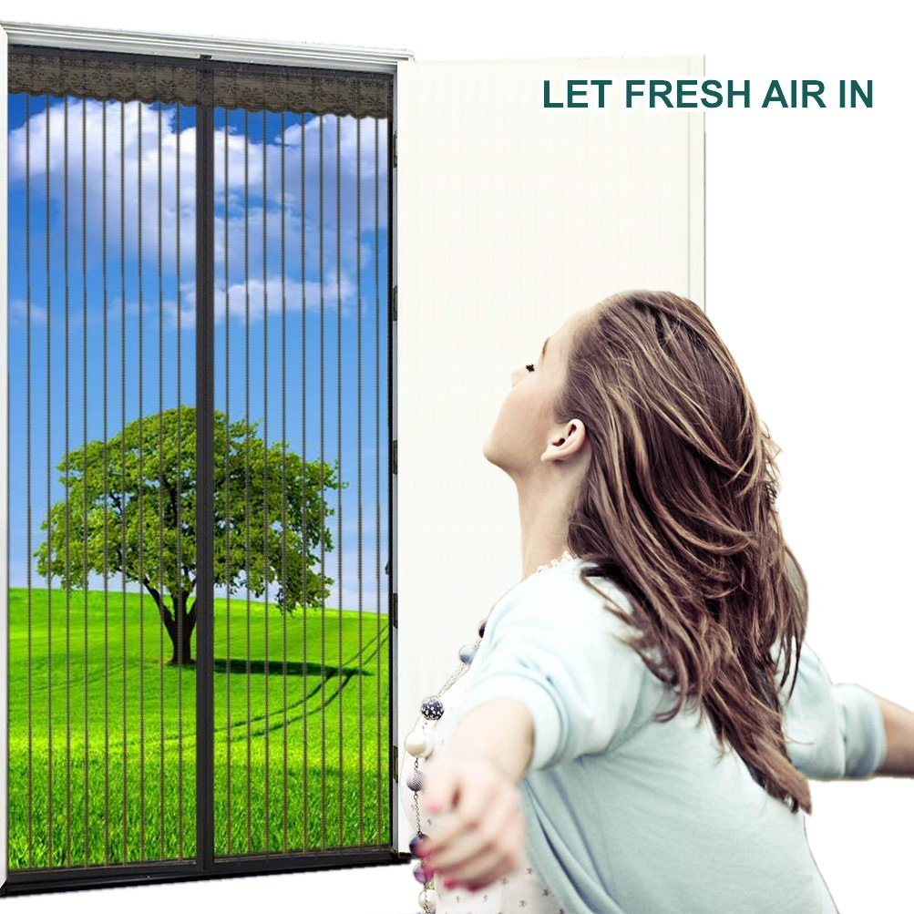 China Magnetic Screen Garage Door Curtain Photos Pictures Made