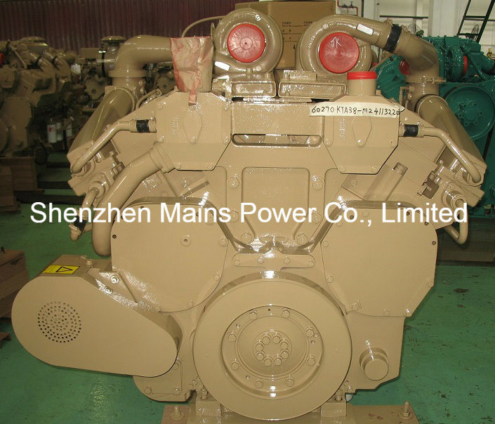 1600HP 1800rpm Cummins Marine Diesel Engine Fishing Boat Engine pictures & photos