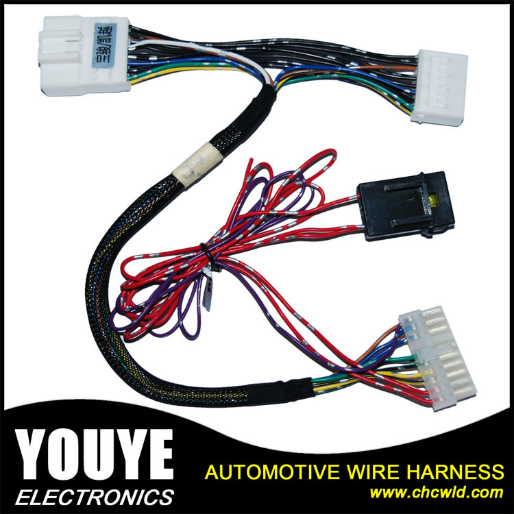 China Customized Wire Harness Assembly Electric Automotive Wiring ...