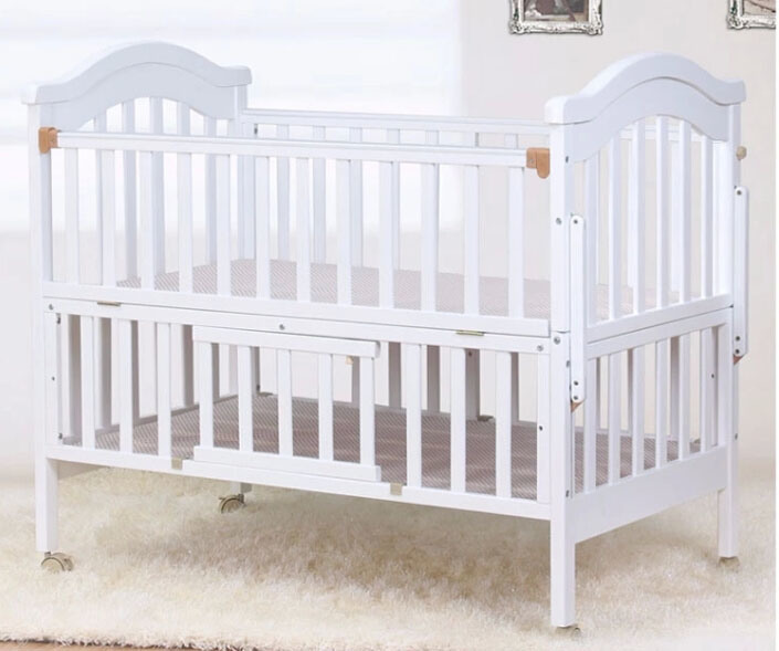 Hot Item Hot Selling And Cheap Price Baby Crib Made By Solid Wood M X1123