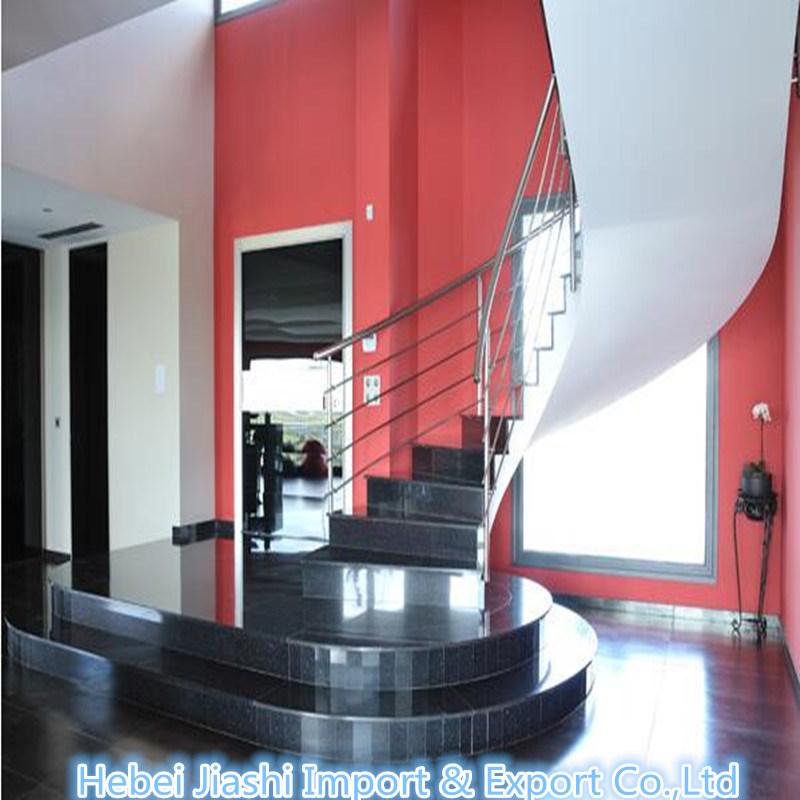 Shanxi Black Absolute Granite Steps For Interior Flooring