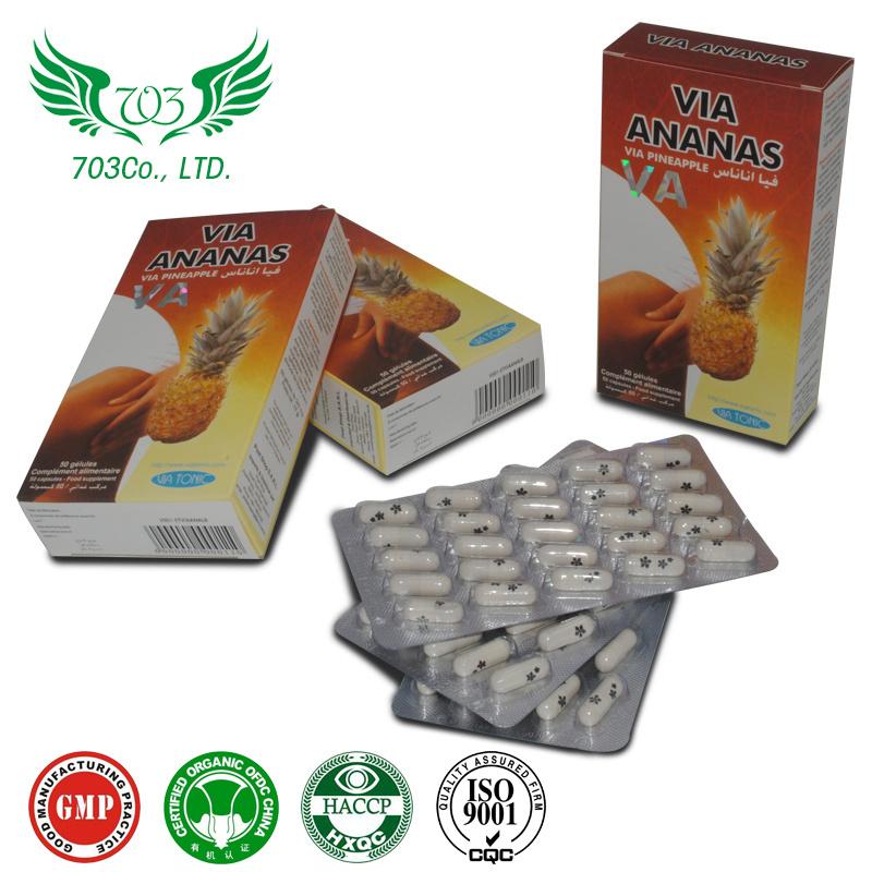 China Via Ananas 100% Herbal Extract Weight Loss, Beauty ...