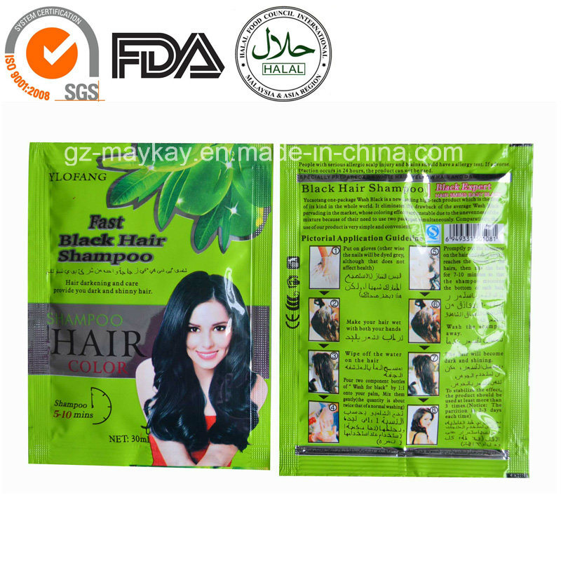 China Ylofang Fast Black Hair Shampoo China Black Hair Shampoo