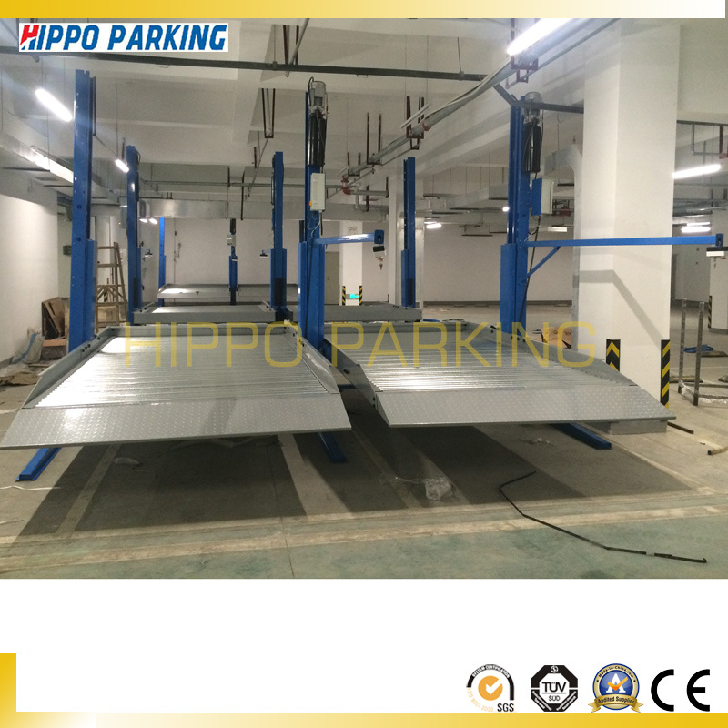 Auto Parking Lift Low Ceiling Two Post Car Lifter