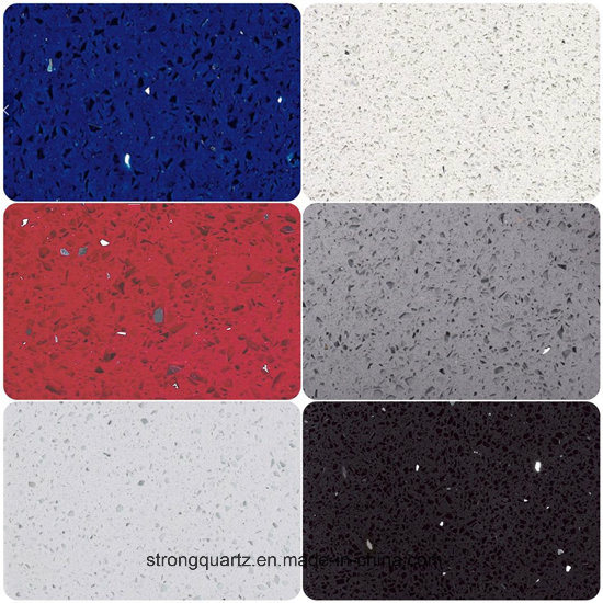 Chinese Supplier White Galaxy Quartz Countertop