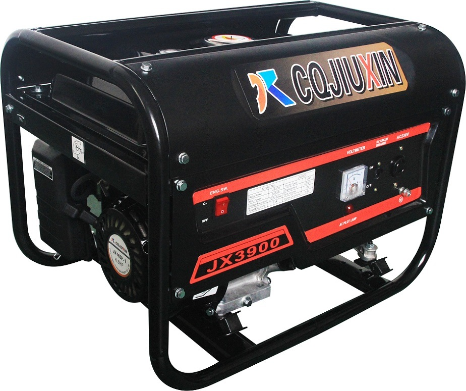 Jx3600b-5 (c) 2.5kw High Quality Gasoline Generator with a. C Single Phase and Cover