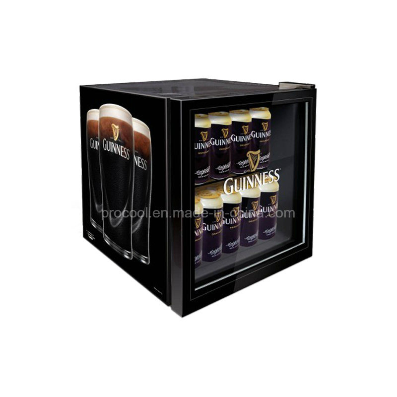 China Display Mini Bar Fridge With Glass Door For Drink China Mini