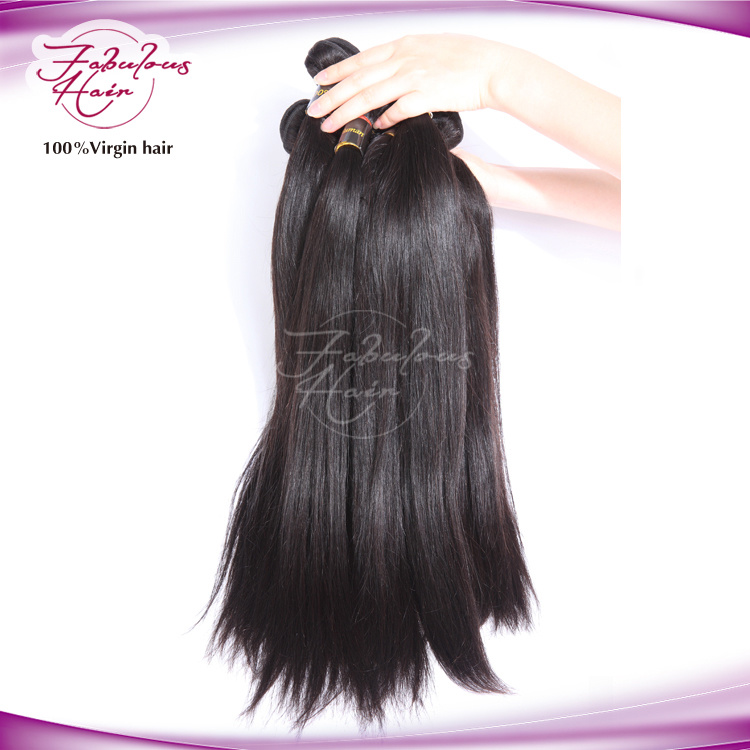 China Wholesale Remy Human Hair Weave Natural Raw Virgin Indian Hair