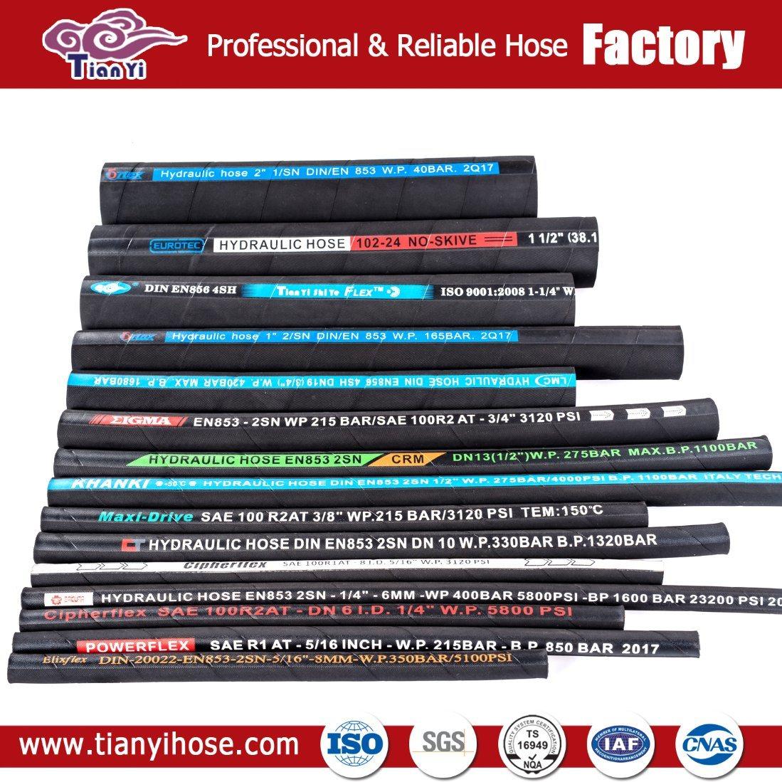 China Hose Crimping Machine Equipment SAE 100 R11 Wire Braided ...