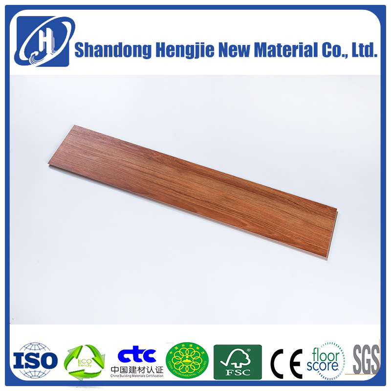 China Indoor Environmental Friendly Hpl Wpc Cork Flooring Manufacturers Glue Free Install Whole