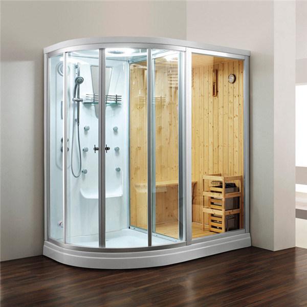 Hot Item Sauna Shower Steam Three In One Combination Cabinet Room M 8251