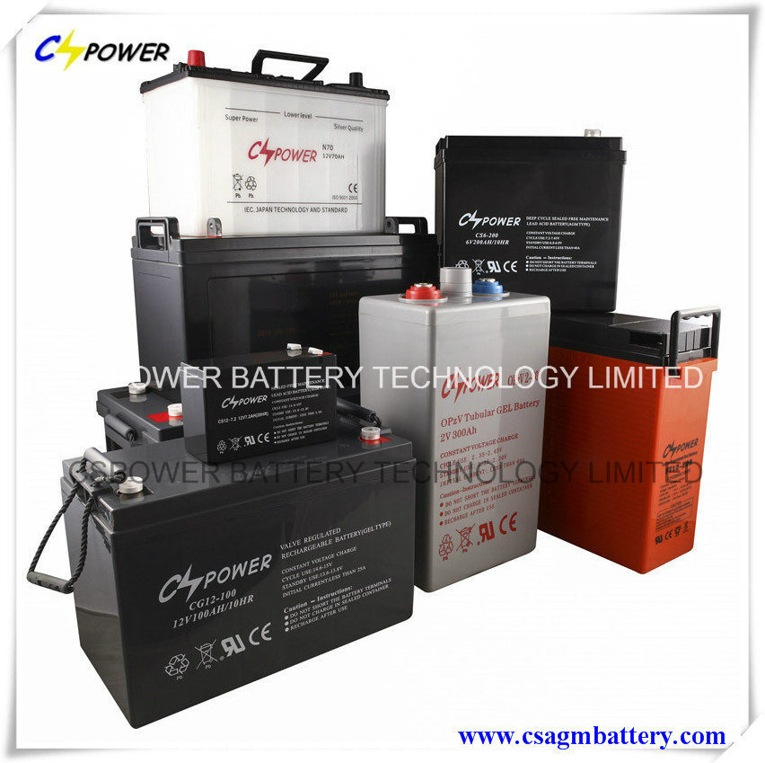 12V150ah Deep Cycle AGM Lead Acid Battery for UPS Inverter and Solar pictures & photos