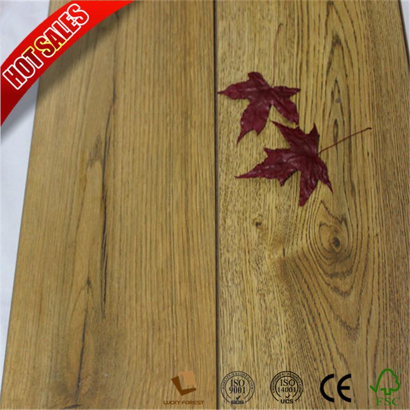 Hot Item Indoor Beech Wood Fire Resistant Laminate Flooring