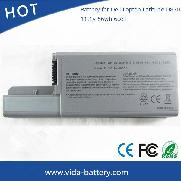 [Hot Item] 56wh Laptop Battery for DELL Latitude  D530/D531n/D820/D830/Df192/Df230/CF704/Yd624