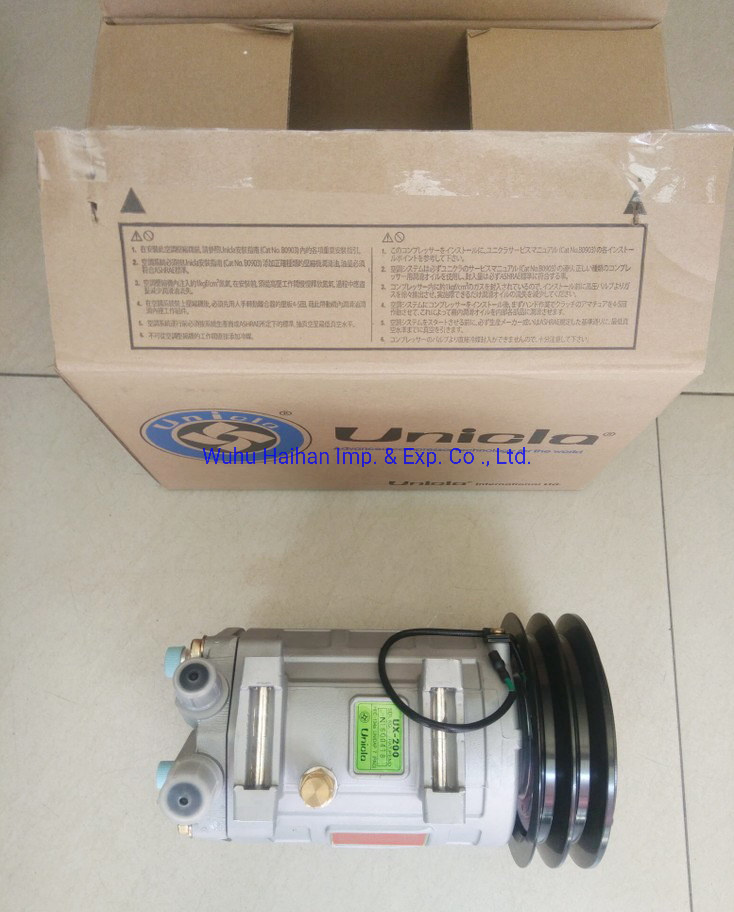 China Supplier Auto Air Conditioner Compressor Unicla Ux-200 pictures & photos