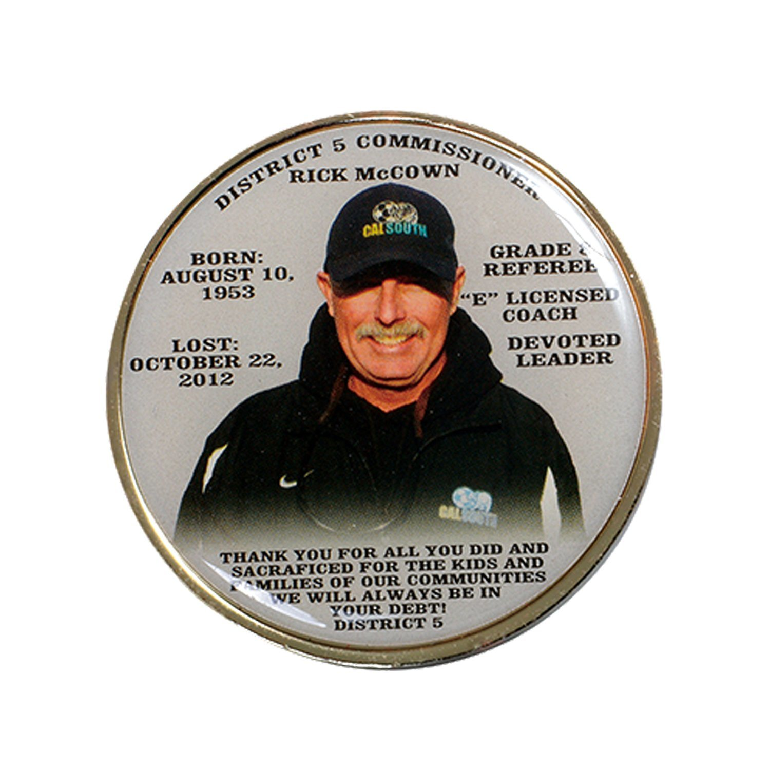 [Hot Item] Wholesale Custom 2019 Gold Silver Character Donald Trump  Challenge Coin