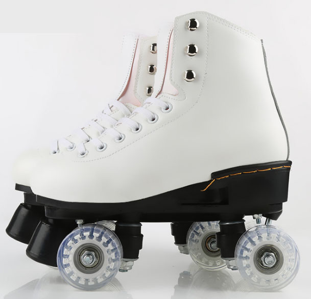Double-Row 4-Wheel Roller Skate Shoes