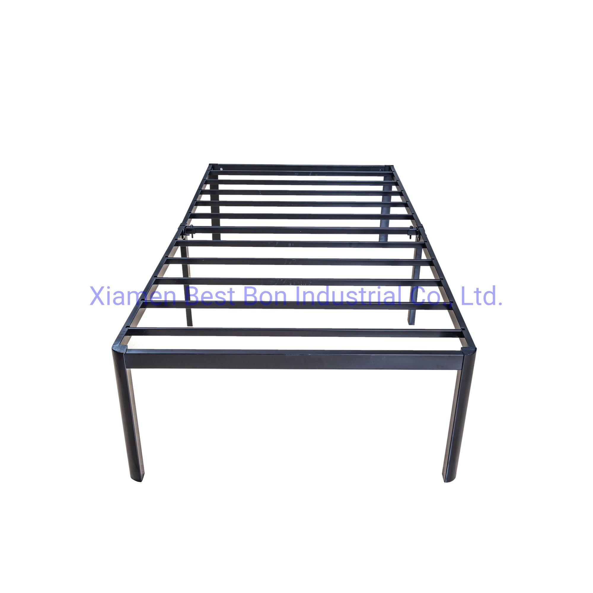 China 14 Black Metal Twin Xl Size Iron Side Bed With Keel Bed Frame Trendy Style Fashion High End Photos Pictures Made In China Com