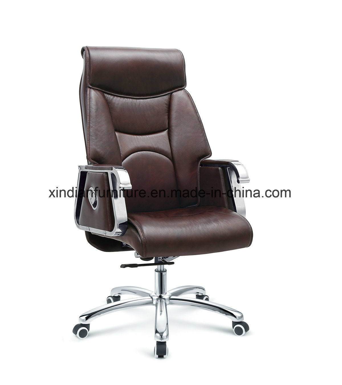 Visitor Guest Office Leather Swivel