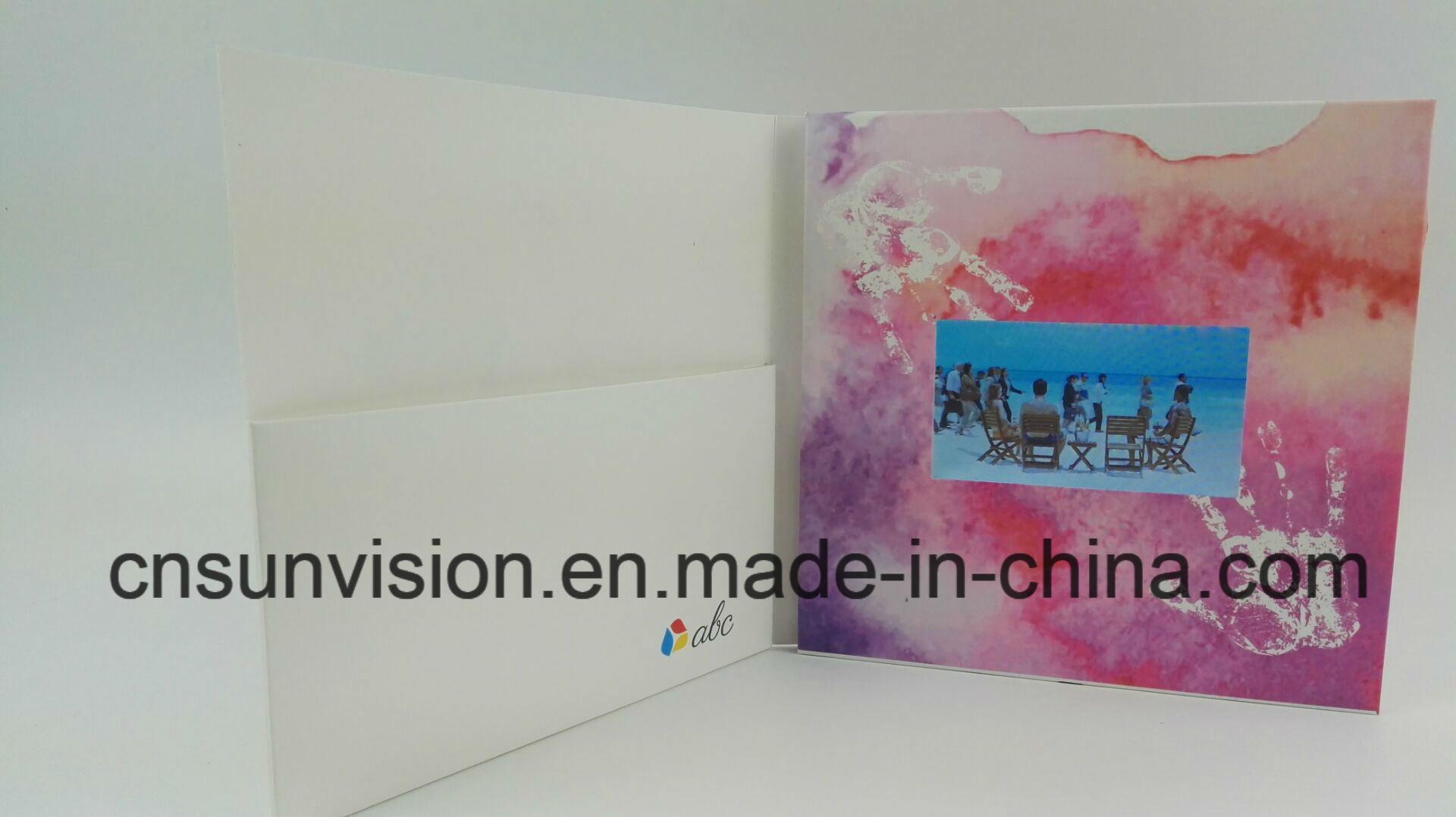 China Christmas Greeting Card 43 Lcd Birthday Music Card China