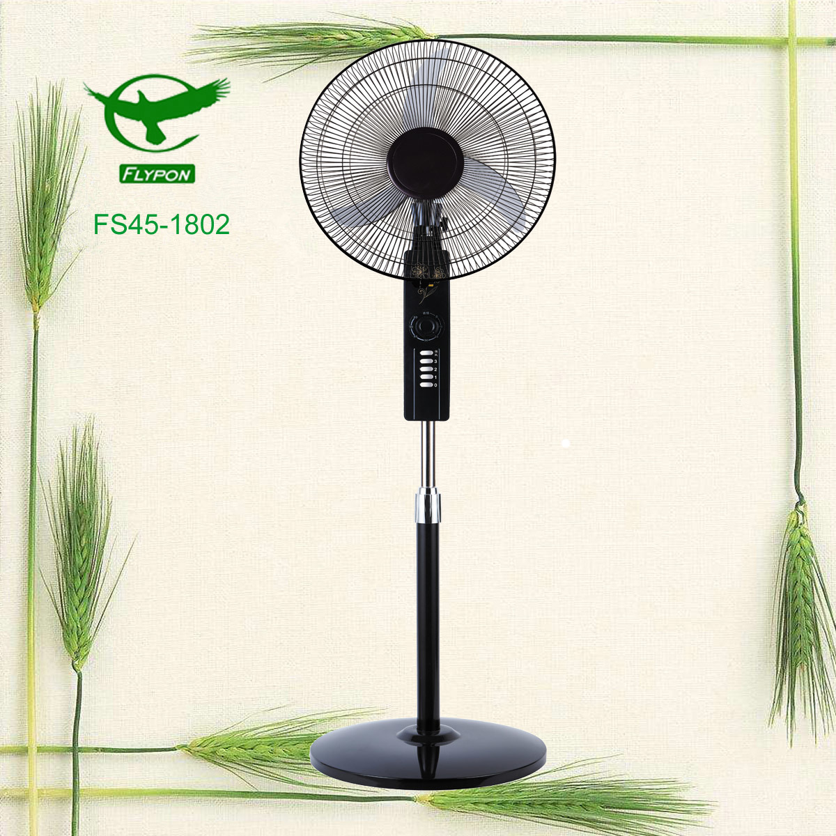 Home Office Cooling Fan 18inch Electric Stand For Summer