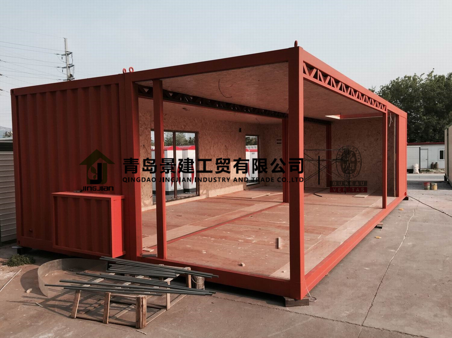 china 20ft 40ft used shipping luxury home prefab container house for sale china modular house. Black Bedroom Furniture Sets. Home Design Ideas