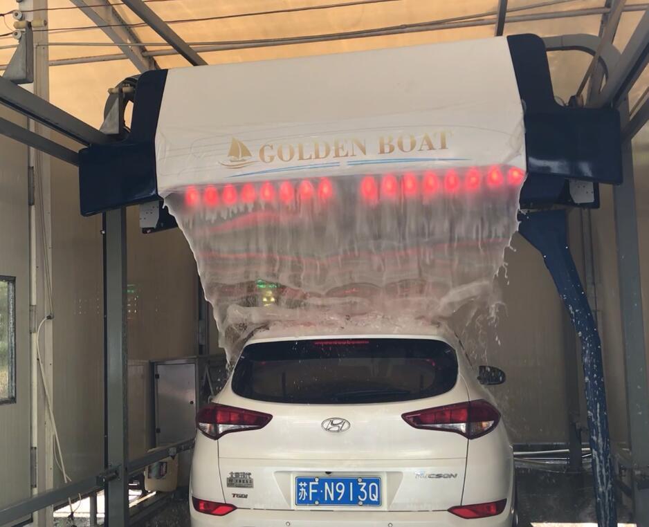 Auto Car Wash >> Hot Item Automatic Car Wash Machine Hot Sale In France