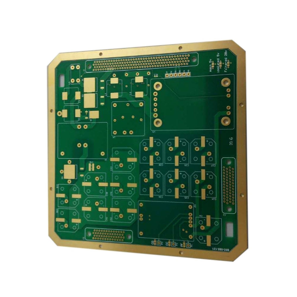 china multilayer pcb enig rigid pcb usb print circuit board
