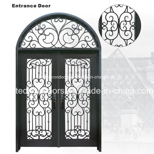 China Best Quality Wrought Iron Entry Door With Competitive Price