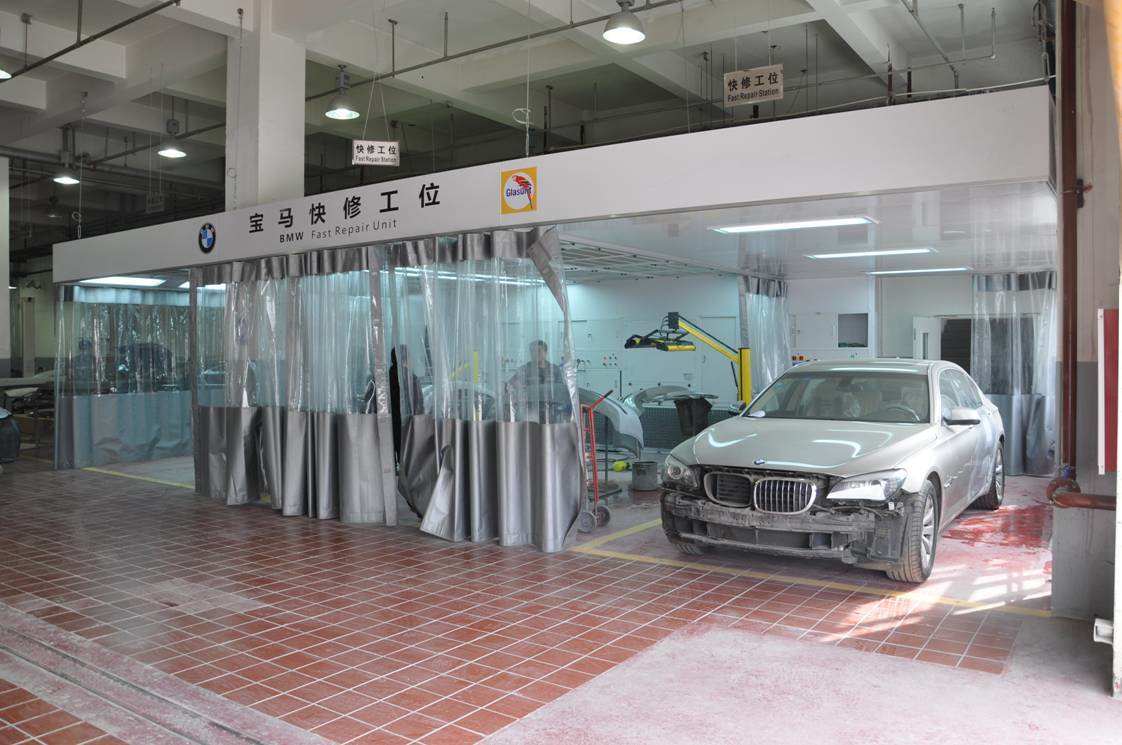 Rooms: China Yokistar Manufactured Car Preparation Bay For Sale