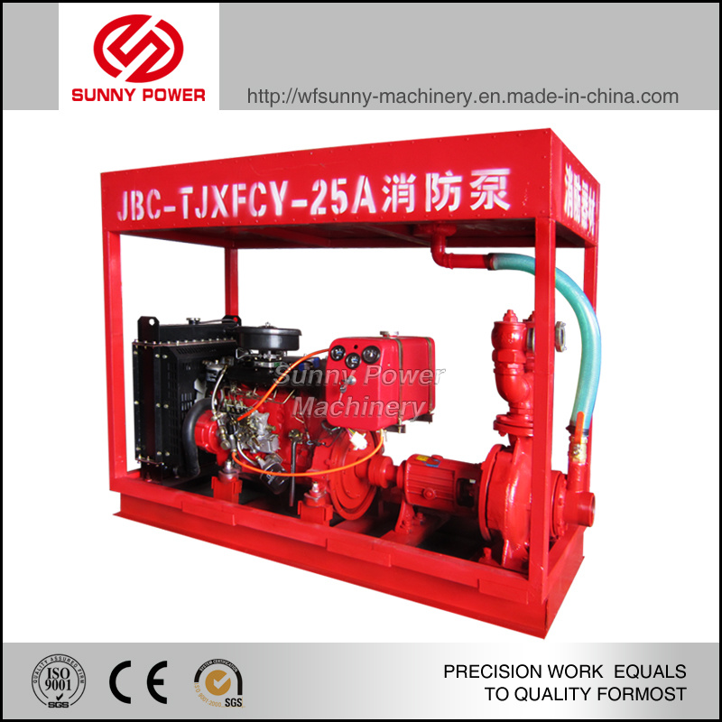 High Quality Diesel Water Pump for Mining with High Pressure
